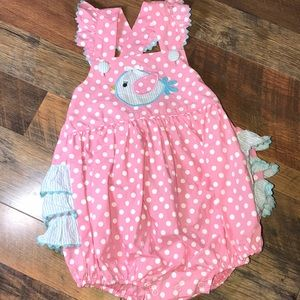 Stellybelly ruffle bubble outfit 2t 🐦